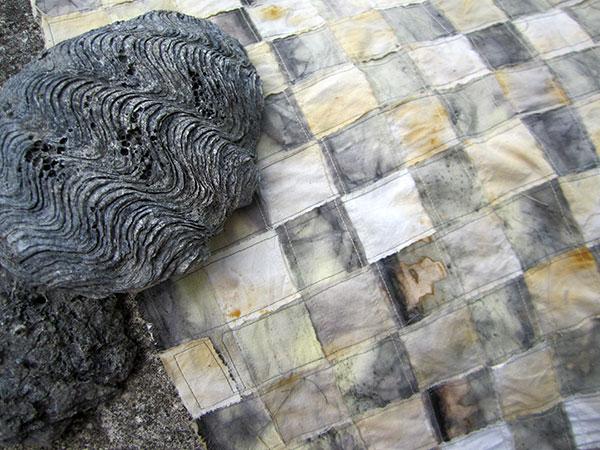 woven farbic strips