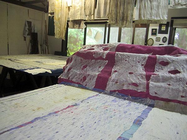 Studio full of tapa