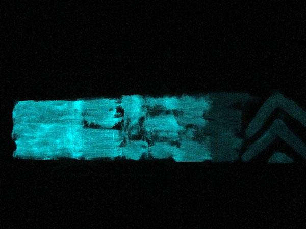 varying glow intensity