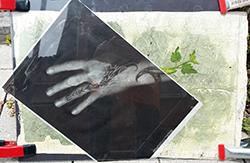 hand print - undeveloped